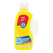 Q-Power WC záves gél 400ml Citrón
